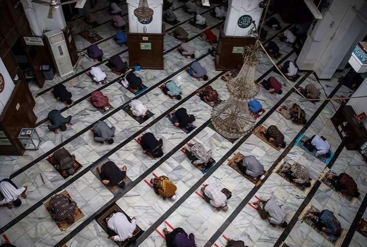Khusus Zona Hijau dan Kuning, Pemerintah Tetapkan Panduan Ibadah Ramadhan dan Idul Fitri