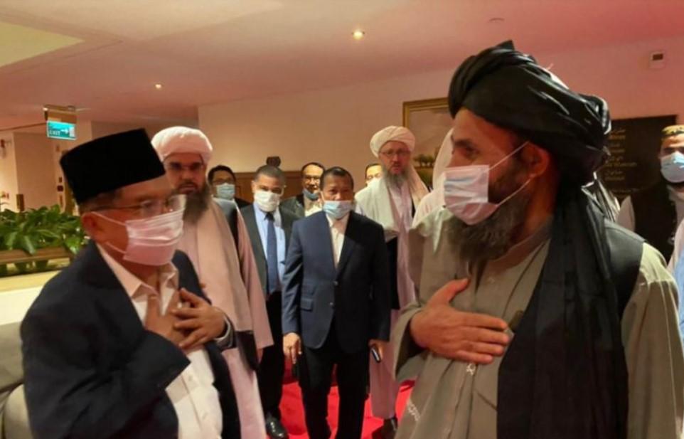 Kisah Jusuf Kalla Jadi Mediator Konflik Taliban-Afghanistan