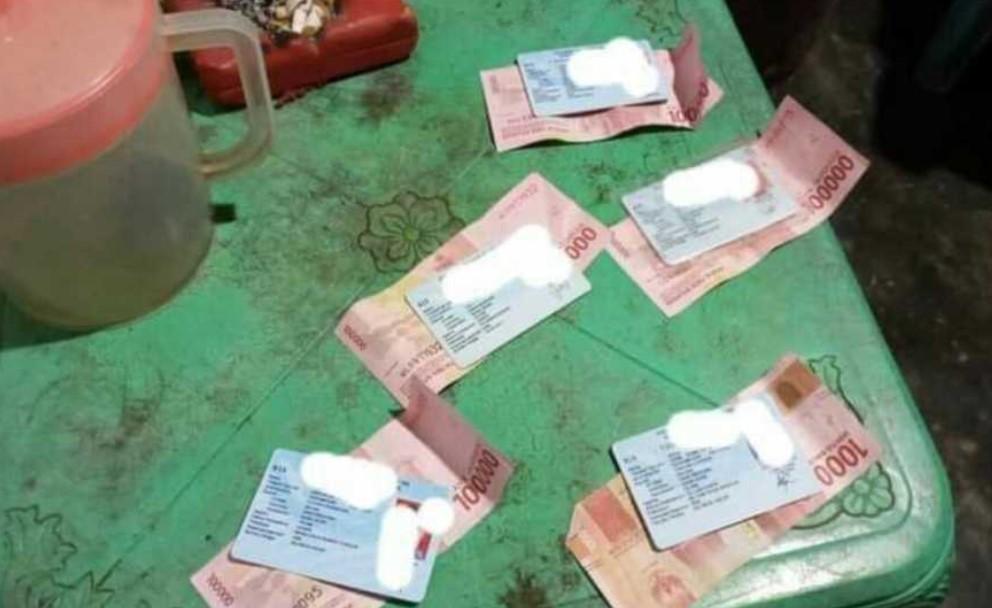 Klaim Uang Pembayaran Saksi, Seorang Tim Paslon ditangkap Diduga Hendak lakukan `Serangan Fajar`