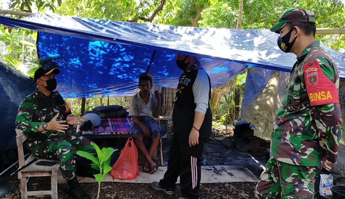 Kodim 1422/Maros  Laksanakan Bedah  Rumah Warga tidak Layak Huni