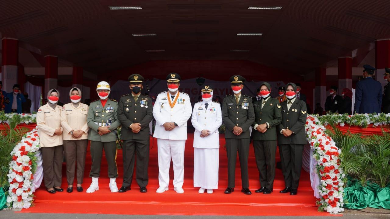 Komandan Kodim 1422/Maros Hadiri Upacara Hari  Kemerdekaan RI