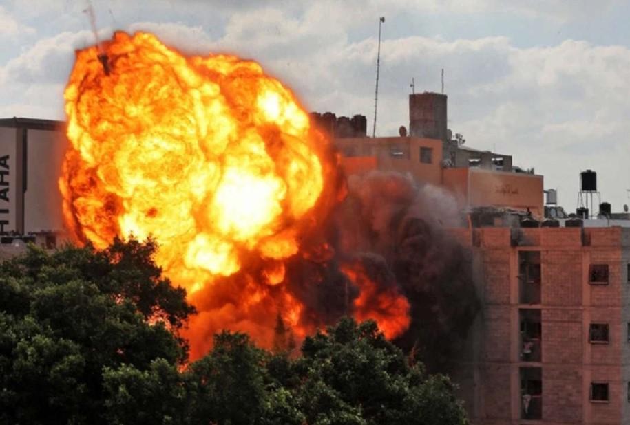 Korban Jiwa Dimana-mana Akibat Serangan Israel di Gaza Selatan
