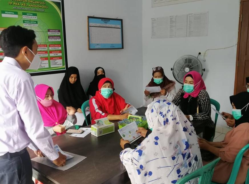 Lawan Covid 19 , Fakultas Farmasi UHO Gelar  Penyuluhan dan Edukasi Tanaman Obat untuk Meningkatkan Daya Tahan Tubuh