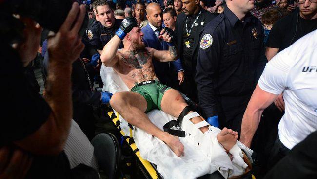 Lawan Poirier di UFC 264, Kaki McGregor Patah