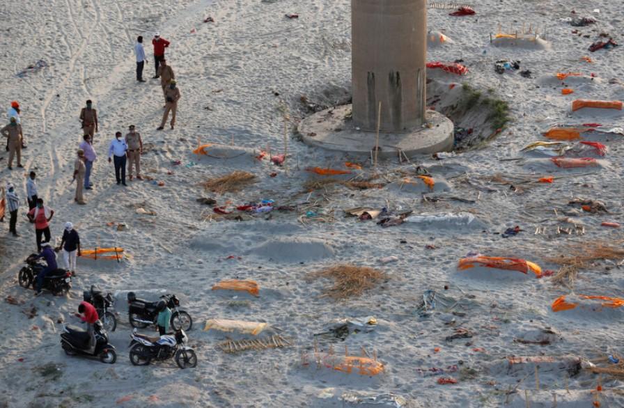 Lebih 2.000 Jenazah Ditemukan di Tepi Sungai Gangga