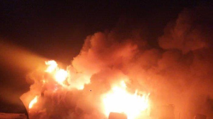 Ledakan Dahsyat Gegerkan Warga Arab Saudi