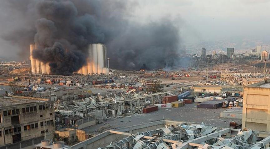 Ledakan Dahsyat Lebanon, Lebih 60 Orang Masih dalam Pencarian
