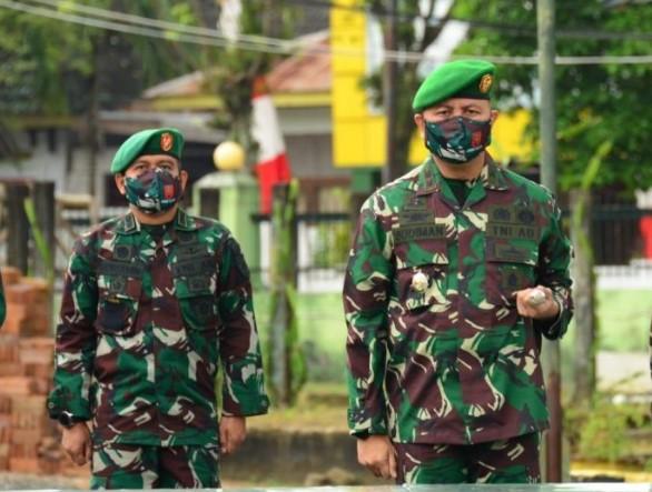 Letkol Kav Budiman Resmi Jabat Dandim 1407/Bone