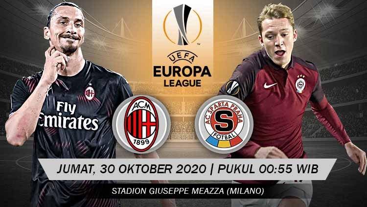 Liga Europa, AC Milan Vs Sparta Praha Sarat Gengsi