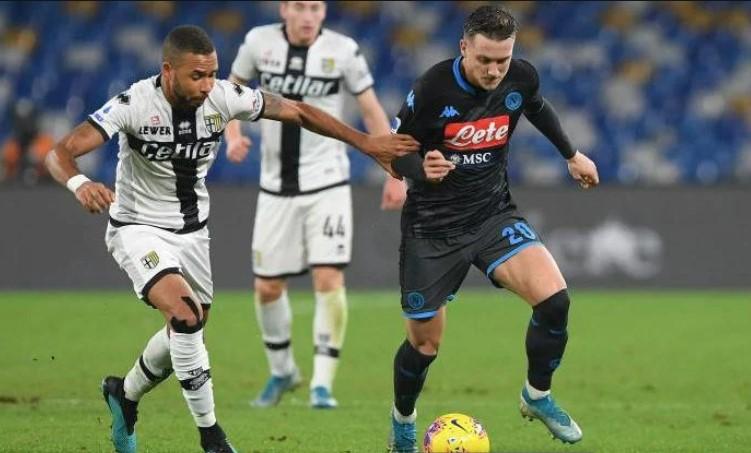 Liga Italia : Bermain di Kandang, Napoli Sukses Raih Poin Penuh atas Parma