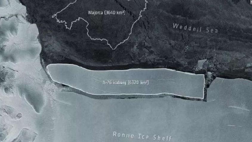 Live Science: Gunung Es Terbesar di Dunia Pecah di Antartika