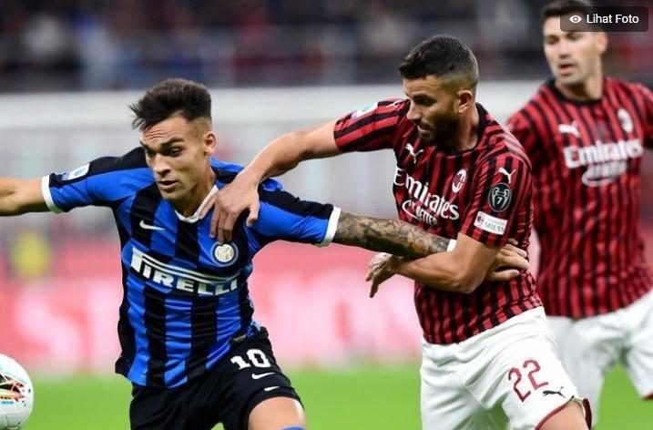 Live Streaming Laga Panas Liga Italia, Pertemukan Ac Milan vs Inter Milan
