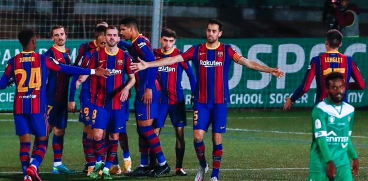 Lolos 16 Besar Copa Del Rey, Barcelona Susah Payah Kalahkan Cornella