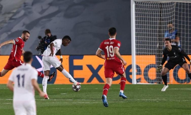 Madrid Bungkam Liverpool 3-1 di Leg Pertama Perempat Final Liga Champions
