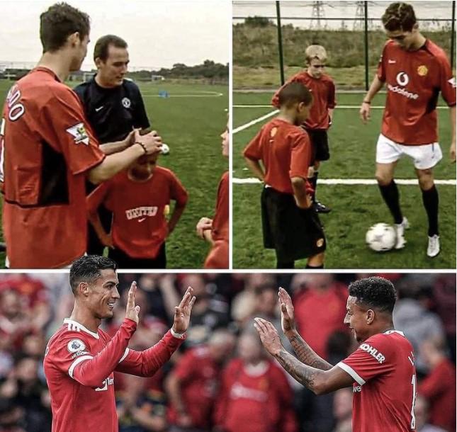 Main dengan Ronaldo, Mimpi yang Jadi Kenyataan untuk Lingard