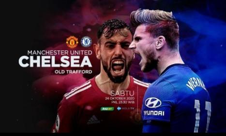 Manchester United (MU) Vs Chelsea, Reuni Cavani-Silva