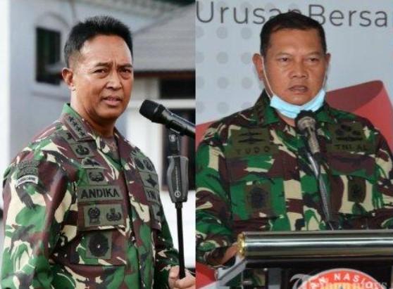 Masuk Bursa Calon Panglima TNI, Andika Perkasa atau Yudo Margono, Siapa Lebih Tajir?