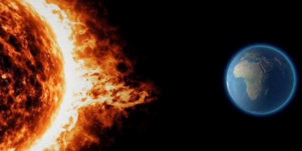 Matahari Lepaskan Ledakan terkuat Di Tiga Tahun Terakhir