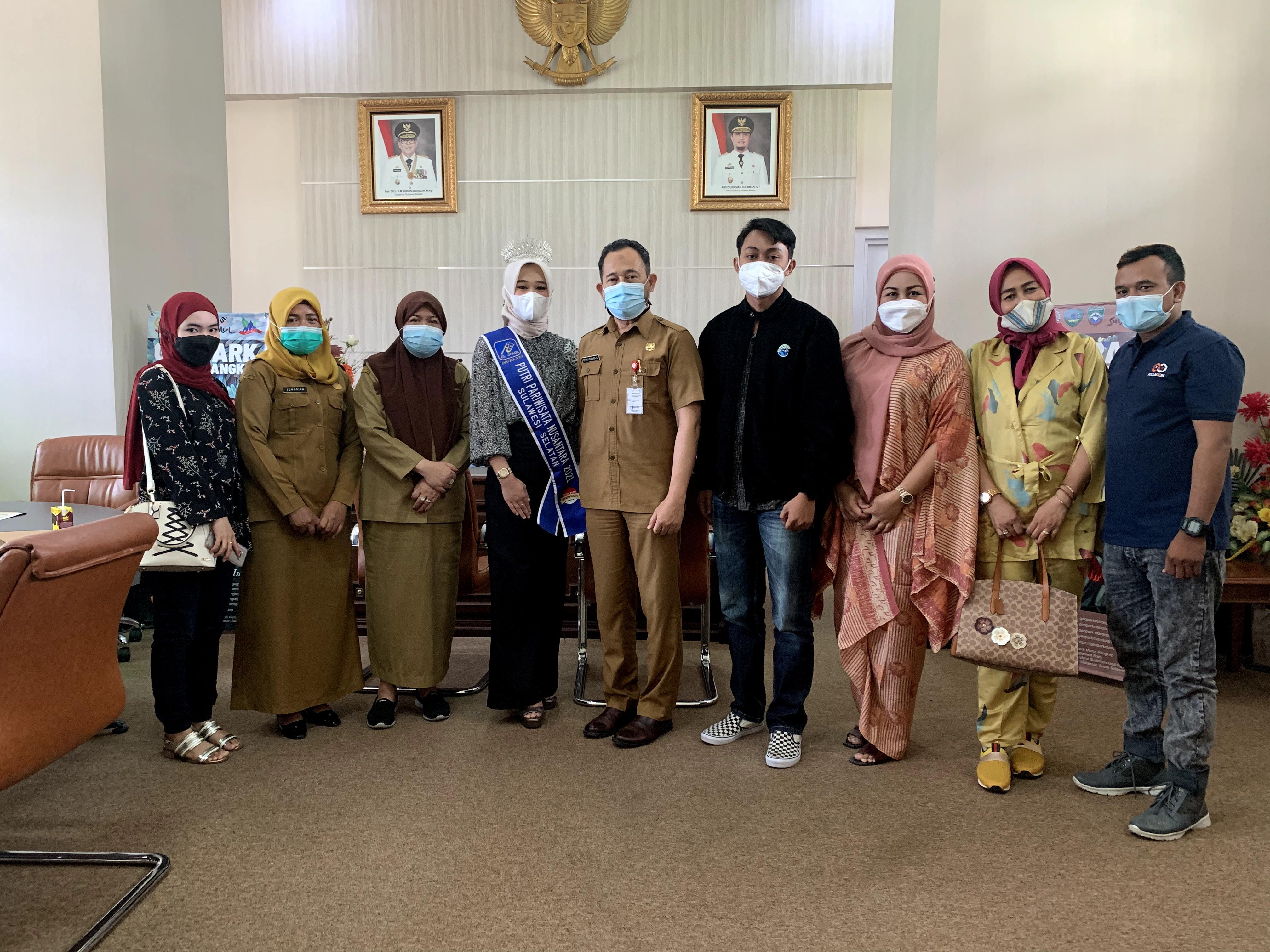 Mau Jadi Wakil Sulsel Di Tingkat Nasional? Media Pro Buka Peluang untuk Finalis Ikuti Pemilihan Putri Pariwisata Makassar 2021