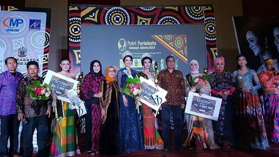 Media Pro Makassar Gelar Pemilihan Putri Pariwisata Sulawesi Selatan 2021