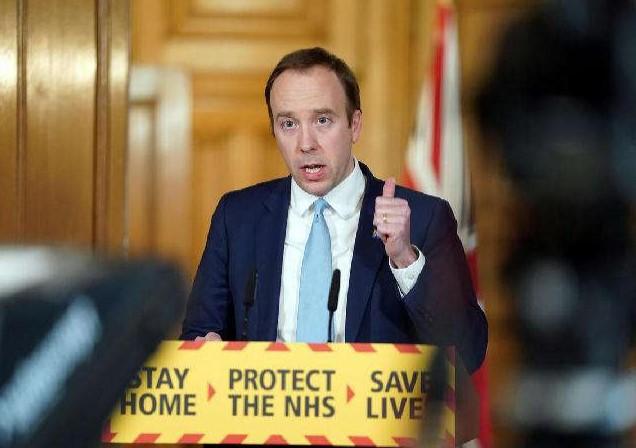 Melanggar Protokol Kesehatan, Menteri Kesehatan Inggris Mengundurkan Diri