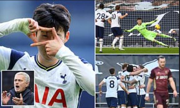 Menang 3-0 atas Leeds United,  Tottenham Naik ke Urutan 3 Klasemen Liga Inggris