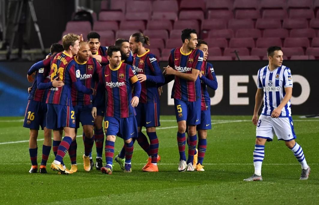 Menang Atas Real Sociedad, Barcelona Jaga Peluang Juara Liga Musim Ini