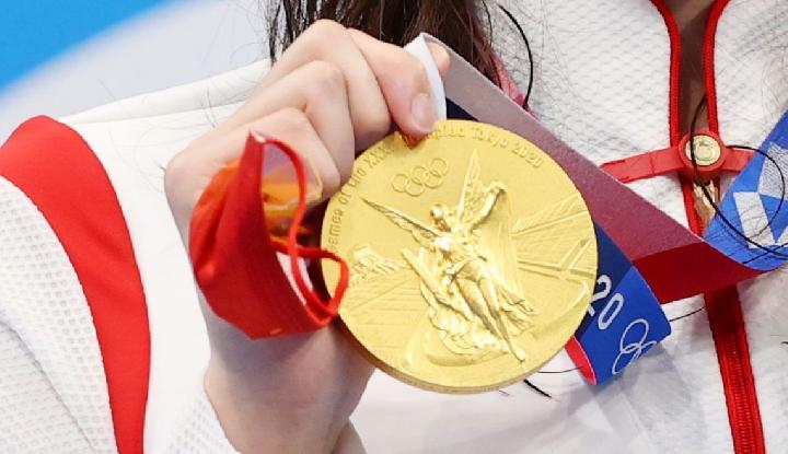 Mencengangkan..! Medali Emas Olimpiade 2020 Hanya Senilai Rp 11,8 Juta, Netizen Komentar Begini