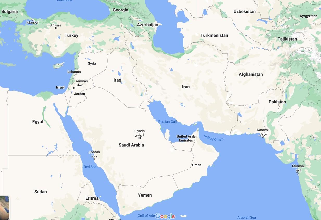 Mengapa Gaza Tampak Kabur dan Tak Tersedia Citra Resolusi Tinggi di Peta Google?