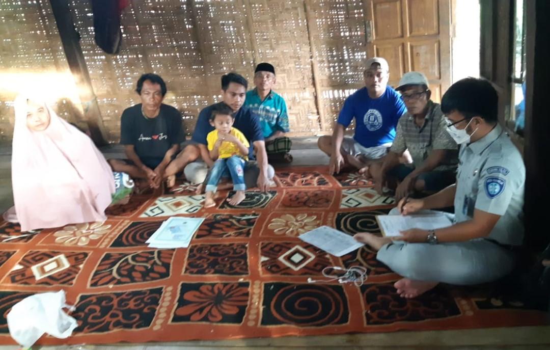 Meski Hari Lebaran, Jasa Raharja tetap Survei Ahli Waris  Korban Laka Lantas