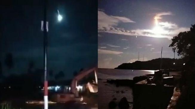Meteor Jatuh di Bumi Banggai Sulawesi, Warga Geger