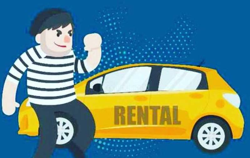 Modus Rental, Warga Luwu Bawa Kabur Mobil Agya