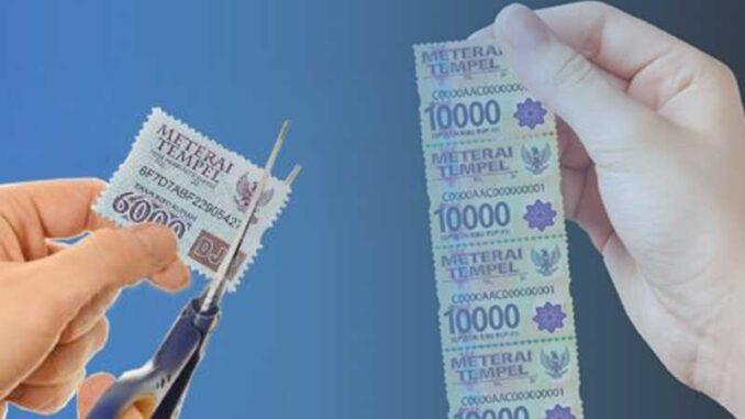 Mulai 1 Januari 2021 Materai Rp 10.000 Resmi Berlaku, Bagaimana dengan Materai Lama?