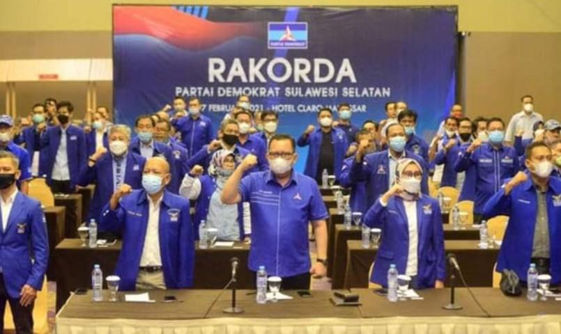 Musda Demokrat Sulsel, DPC Usulkan DPP Penentu Ketua DPD Demokrat