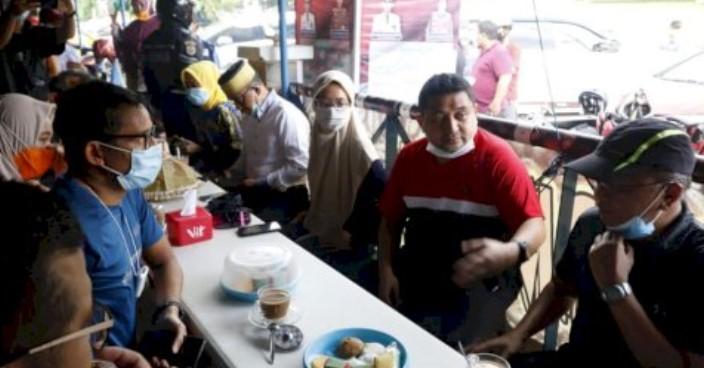 Ngopi Bareng Appi, Sandiaga Uno Sebut Appi Sosok Tepat Pimpin Makassar