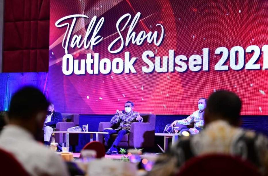 Outlook Sulsel 2021, Nurdin Sebut PAD Masih Didominasi Pajak Kendaraan
