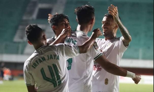 PS Sleman Rebut Posisi Tiga Piala Menpora 2021 Usai Kalahkan PSM 2-1