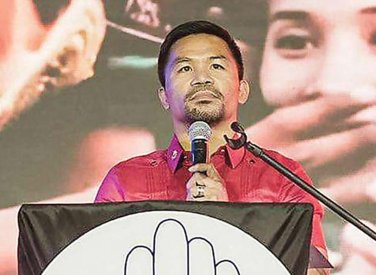 Pacquiao Deklarasikan Diri Sebagai Calon Presiden Filipina, Janji Atasi Korupsi dan Kemiskinan