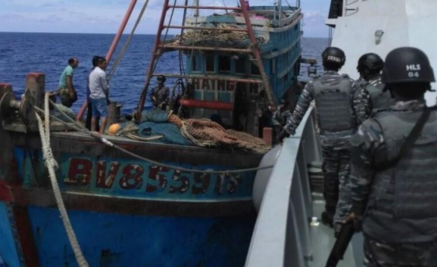 Pakai Bendera Indonesia, Kapal Asing Ini Coba Kelabui Aparat Keamanan