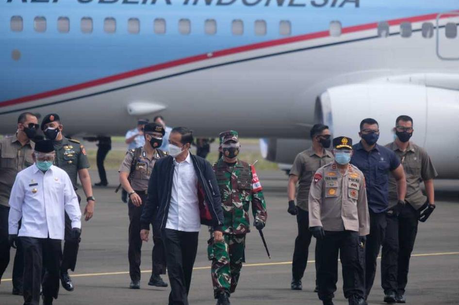 Pasca Kunjungi Sulbar, Ini Bantuan Presiden Jokowi bagi Para Korban Gempa