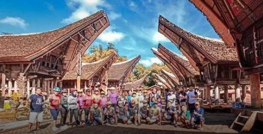 Passepeda Toraya Jajal Obyek Wisata Di Era New Normal