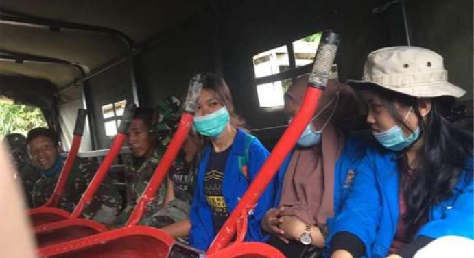 Peduli Korban Masamba, UNIFA Makassar Kirim Relawan, Mahasiswa KKN dan Bantuan