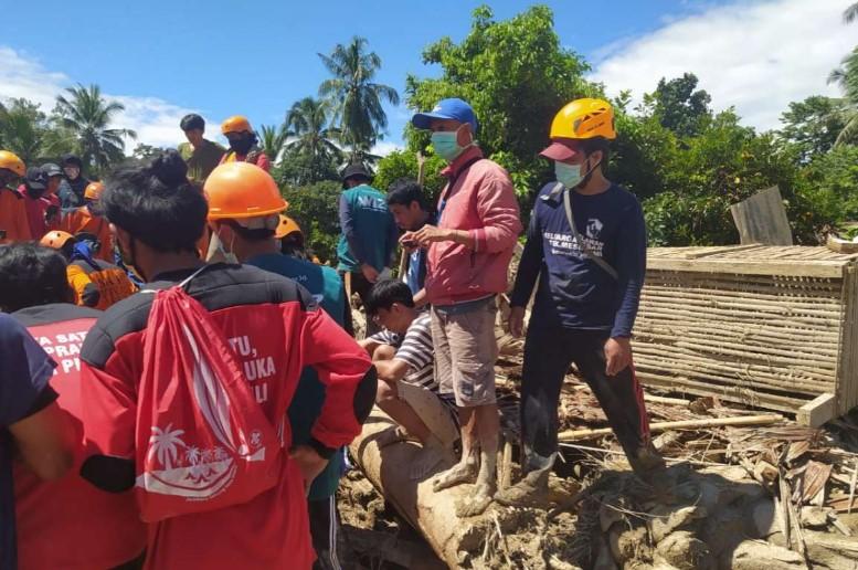 Peduli Masamba, Teknik Mesin UMI Kirim Bantuan dan Relawan ke Lutra