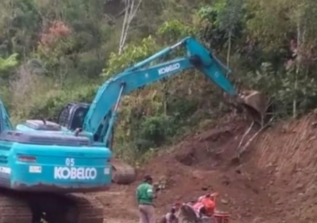 Pelebaran Jalan di Kabupaten Luwu Geser 41 Rumah Warga