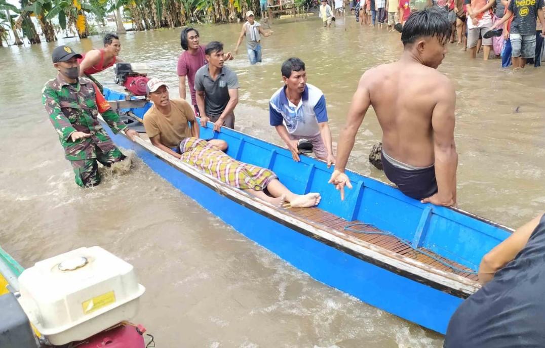 Perahu Terbalik, Tiga Pemuda Meninggal di Danau Tempe