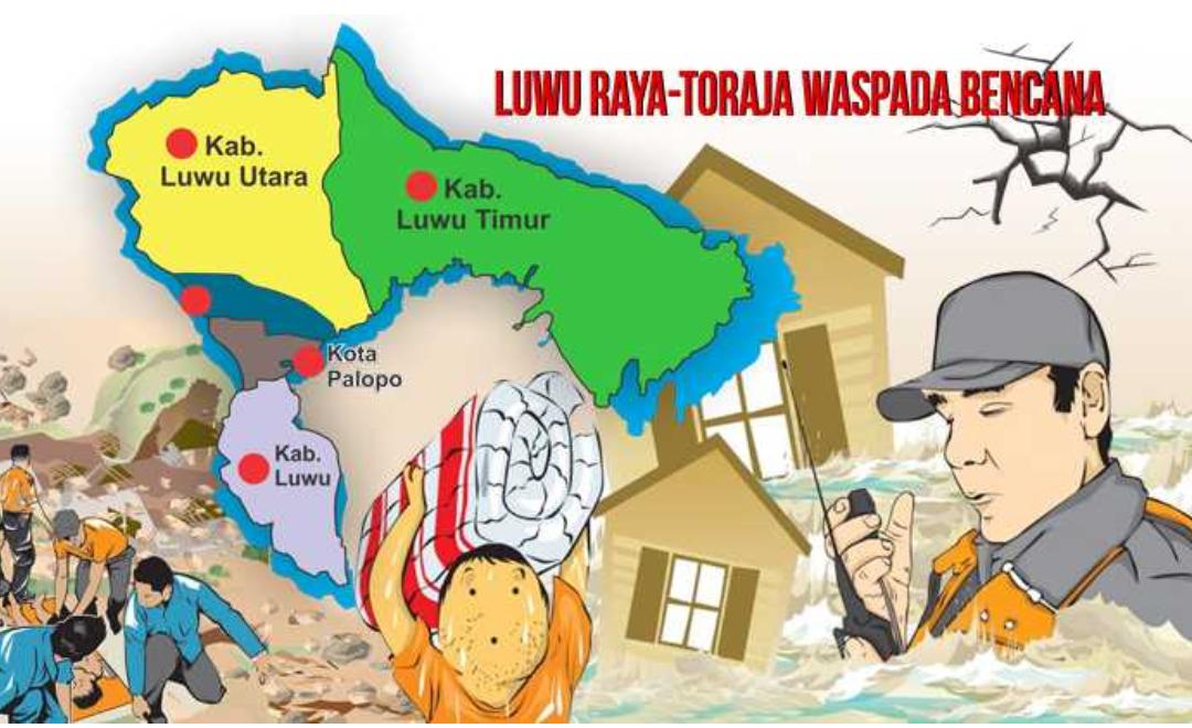 Peringatan BMKG Soal Cuaca Ekstrim, Luwu Raya-Toraja Waspada Bencana