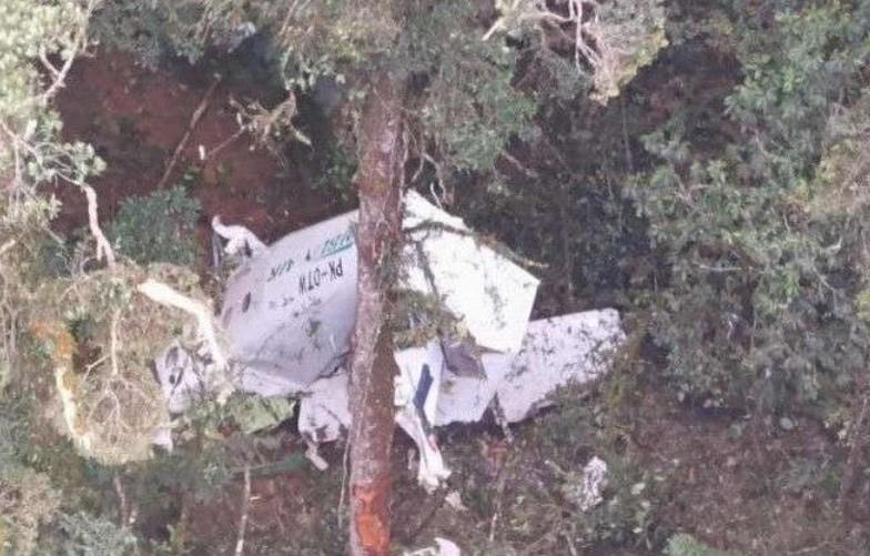 Pesawat Rimbun Air yang Jatuh, Ditemukan di Perbukitan Papua