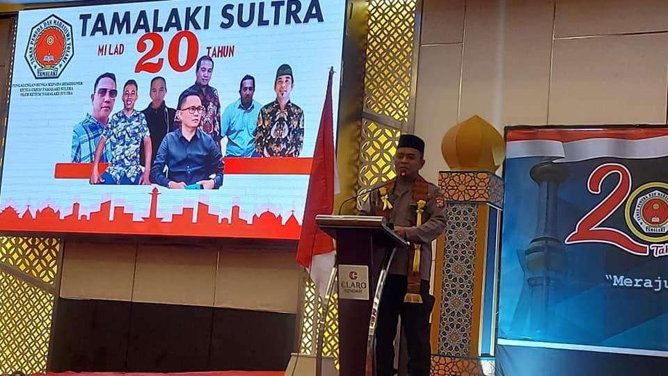 Polda Sultra Harap Tamalaki Bersinergi Untuk Keamanan Sulawesi Tenggara
