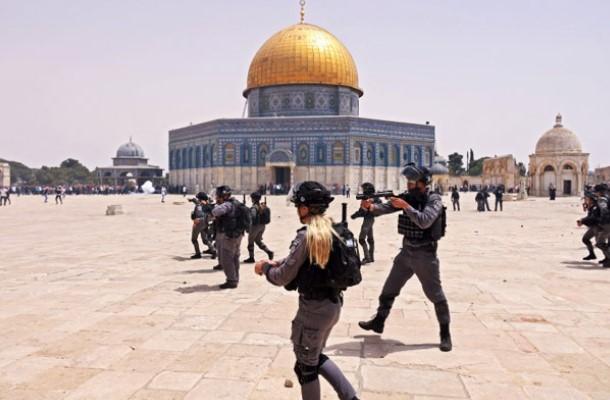 Polisi Israel Kembali Serang Al Aqsa Tak Lama Setelah Gencatan Senjata