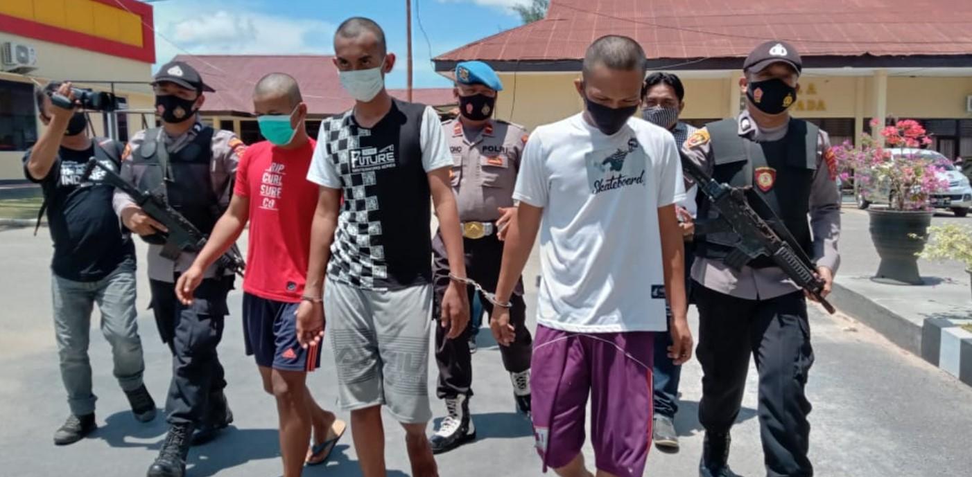 Polisi Tangkap Tiga Tersangka Pembunuhan di Hutan Bakau Teluk Kendari
